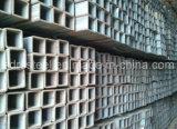 正方形の熱い浸された電流を通された鋼管(SS400、Q235、Q345)