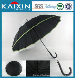New Arrival Facotry Made Golf Umbrella with Bordering