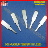 Pinos do plugue do metal da ferragem da fonte de Dongguan (HS-BS-020)
