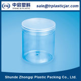 Rundes Transparent Pet Plastic Bottle für Food Packaging