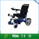 Équipement médical pliant la bicyclette Rollator de fauteuil roulant de courant électrique
