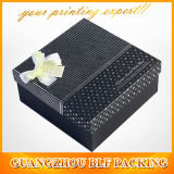 Silver Logo Packaging Gift Box Packaging (BLF-GB005)를 가진 검정