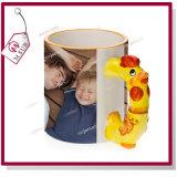 El dragón lindo diseña la taza de cerámica 3D para la sublimación de Mejorsub