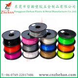 Do ABS 1kg azul da cor 1.75/3mm da fonte da fábrica filamento plástico da impressora 3D