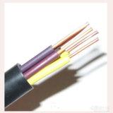 Câble de commande isolé par PVC Cuivre-Creusé d'écran Kvv/Kvvp