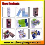 Cajas plegables del pequeño regalo de papel con el PVC claro