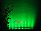 18/24/36 arandela de la pared del LED DMX512 LED