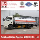 O petróleo móvel de Petrobowser do petroleiro de petróleo transporta o combustível Bowser do caminhão do reabastecimento do petróleo