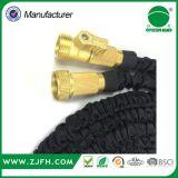 Tuyau flexible de bout droit de tuyau extensible en laiton de connecteur