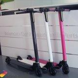 E-Скейтборд самого светлого самоката волокна углерода складывая для детей