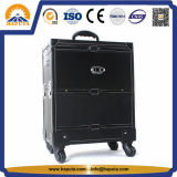 PRO cassa del carrello di trucco di rotolamento con le rotelle (HB-1019)