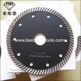 화강암 (125X2.2X8.0X22.23mm)를 위한 CB-13 파 세그먼트 다이아몬드 절단 잎