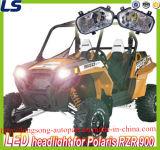 ATV UTV accesorios 12V 25W LED de luz de la cabeza de Polaris Rzr XP 900