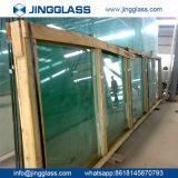 Porte plate durcie personnalisée de guichet gâchée par construction de verre à vitres de sûreté