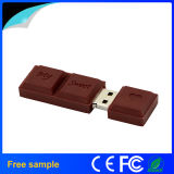 Movimentação agradável do flash do USB do PVC do chocolate doce do amor do presente