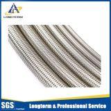 Boyau annulaire tressé en métal d'acier inoxydable
