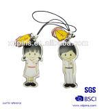 Kundenspezifisches Souvenir Metal Spoons mit Printing Epoxy Sticker (XD-03113)