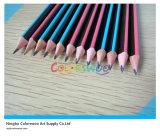 7 '' Top's Quality Stripped Hb Pencil pour étudiants et artistes