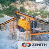Zenith trituradora de roca con 30-800tph Capacidad