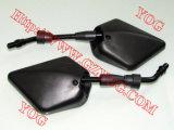 Yog Motorrad-Ersatzteil-seitlicher Spiegelrearview-Spiegel-Roller Gy6 weg von der Straße für x-yFz16 YAMAHA Bajaj Fernsehapparat-Stern Apache 180 Honda-