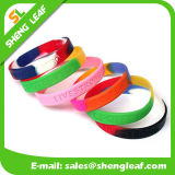 Custom Printed Logo Cute Rubber Power Energy Silicone Bracelet