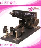 Máquina adulta telescópica eléctrica automática del sexo del juguete del arma/del cañón con el consolador