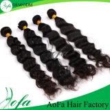 Pente de trame de cheveu de Brésilien de 100% une prolonge de cheveux humains
