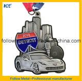 медали 3D с античным медалью