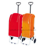 Eisen-Rahmen des Einkaufen-Laufkatze-Kühlvorrichtung-Beutels mit Sitz