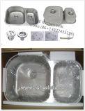 Dispersore di cucina dell'acciaio inossidabile 304 8052al (70/30) per Handmade con Cupc
