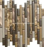 2016 het Glas van stroken & Marmeren Mozaïek voor de Decoratie van de Muur