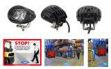 O diodo emissor de luz oval compato de Fisheyes da forma projetou especialmente a luz para o Forklift