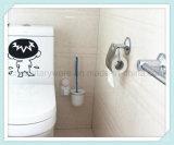 De Reinigingsmachine van de Borstel van het Toilet van de Toebehoren van de badkamers met Houder