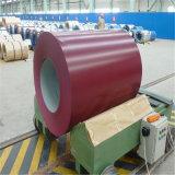 Enroulement en acier enduit par couleur de Ral 5015 SGCC Dx51d PPGI