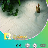 8.3mm AC3 geprägter Eichen-V-Grooved Wasser-beständiger lamellenförmig angeordneter Bodenbelag