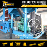 Het grote Scherm van de Zeeftrommel van de Installatie van de Verwerking van het Erts van de Mijnbouw Alluviale Gouden Mobiele