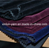도매 100%Polyester는 뜨개질을 한 실내 장식품 직물을 무리를 짓기 한탄한다