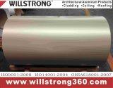 Bobine en aluminium enduite par couleur avec l'enduit de PVDF