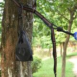 Porte des courroies d'oscillation d'arbre avec Carabiners Non-Étirent des courroies d'hamac