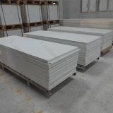 Hoja superficial sólida blanca de Corian del glaciar de la decoración 6m m (M1702116)