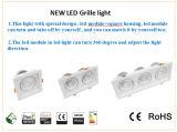 lâmpada da grade do diodo emissor de luz do tamanho 150*150mm Epistar do corte 30W
