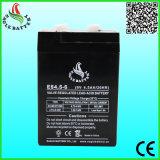 6V 4.5ah Leitungskabel-Säure-Batterie für Warnungssystem