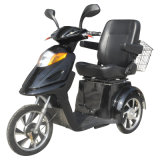 500W48V 3 Autoped Trike, Elektrische Gehandicapte Driewieler van de Mobiliteit van het Wiel de Elektrische voor het Openlucht Drijven (tc-015)