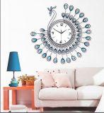 Orologio speciale del metallo della parete di figura con il cristallo per la decorazione domestica