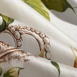 Taihuの雪の織物Oekoは美しく健全な花の絹の寝具セットを証明した