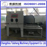 Machine de grenaillage de Tableau de chariot/sableuse rotatoires de plaque tournante