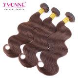#4ペルーのRemyの人間の毛髪の織り方を着色しなさい