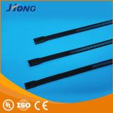 Tipo tipo pulverizado da escada do fechamento da cinta plástica do aço inoxidável multi