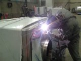 Изготовленный на заказ фабрика обслуживания заварки нержавеющей стали