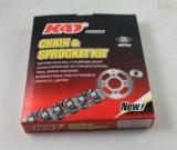 Peça da motocicleta da roda dentada das peças sobresselentes da motocicleta do Kadi